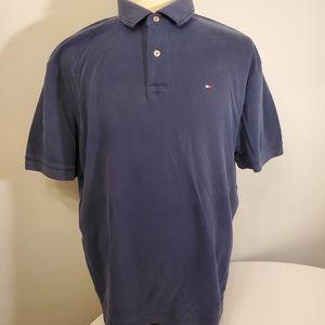Tommy Hilfiger Blue Polo Tee XL